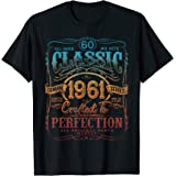 Vintage 1961 Limited Edition Gift 60 years old 60th Birthday T-Shirt