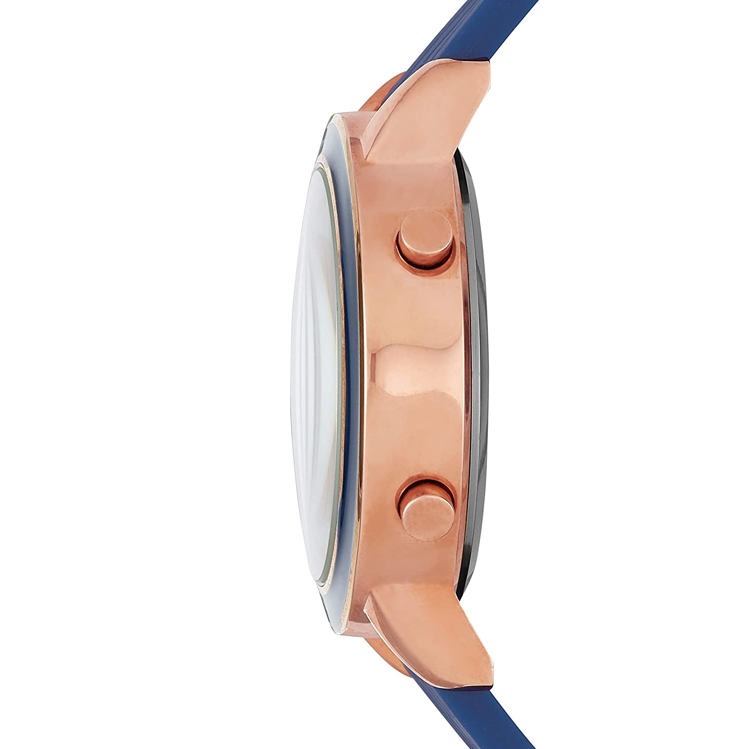 Amazon.com: Skechers Womens Westport Quartz Metal and Silicone Digital Watch Color: Rose Gold, Navy (Model: SR6010): Watches