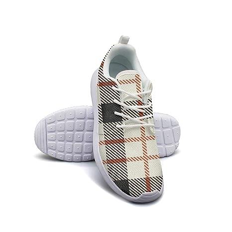 Pduiqo - Zapatillas de Baloncesto para Mujer, diseño de Cuadros ...
