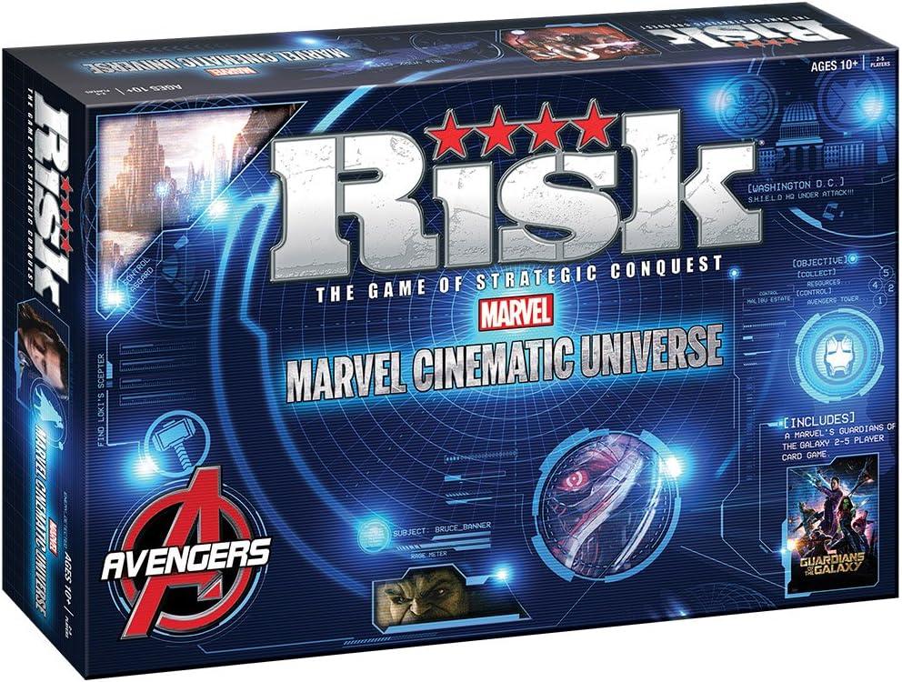 Risk: Marvel Cinematic Universe: USAopoly: Amazon.es: Juguetes y juegos