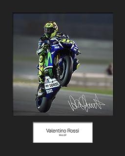 LIMITED EDITION VALENTINO ROSSI MARCO SIMONCELLI SIGNED PHOTO + CERT ... 64e7f91e067d