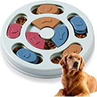 Dog Puzzle Toy Interactive Puppy Puzzle Game Smart Dog Puppy Puzzle Toy IQ Stimulation Puppy Puzzle for Puppy Training…