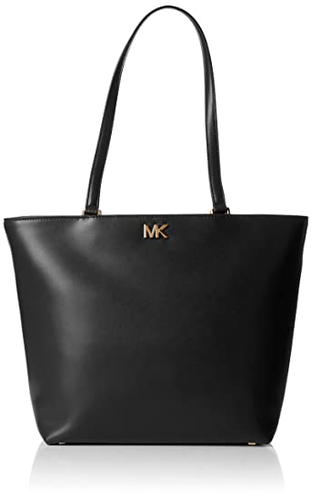 e3d3877211f8 Michael Kors Womens Mott Medium Tote Tote Black (Black)  Amazon.co ...