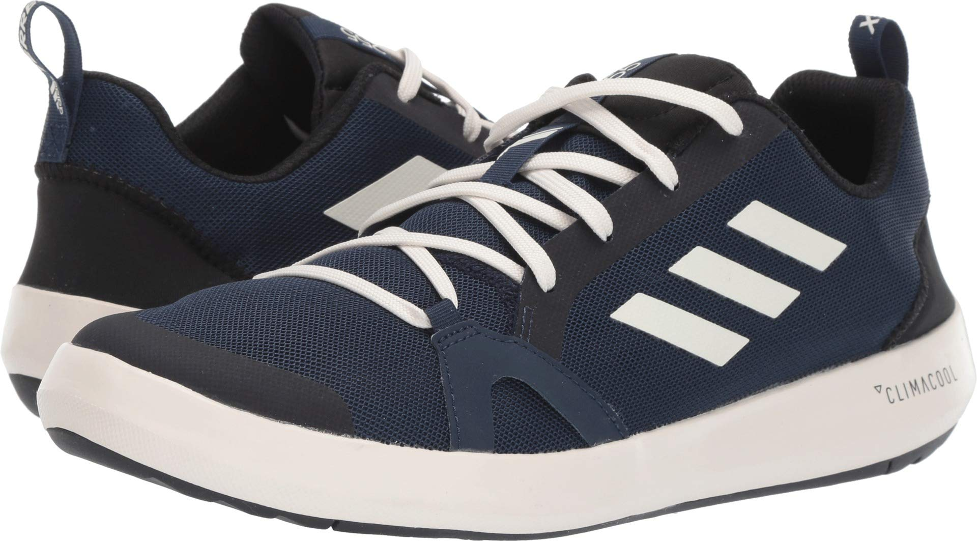adidas outdoor Men's Terrex CC Boat Collegiate Navy/Chalk White/Black 7.5 D US