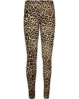 Womens Animal Aztec Skull Print Full Long Pants Ladies Stretch Leggings - Sizes 8 - 14