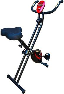 Fitfiu - BEST200 Bicicleta estática plegable, unisex adulto, azul ...