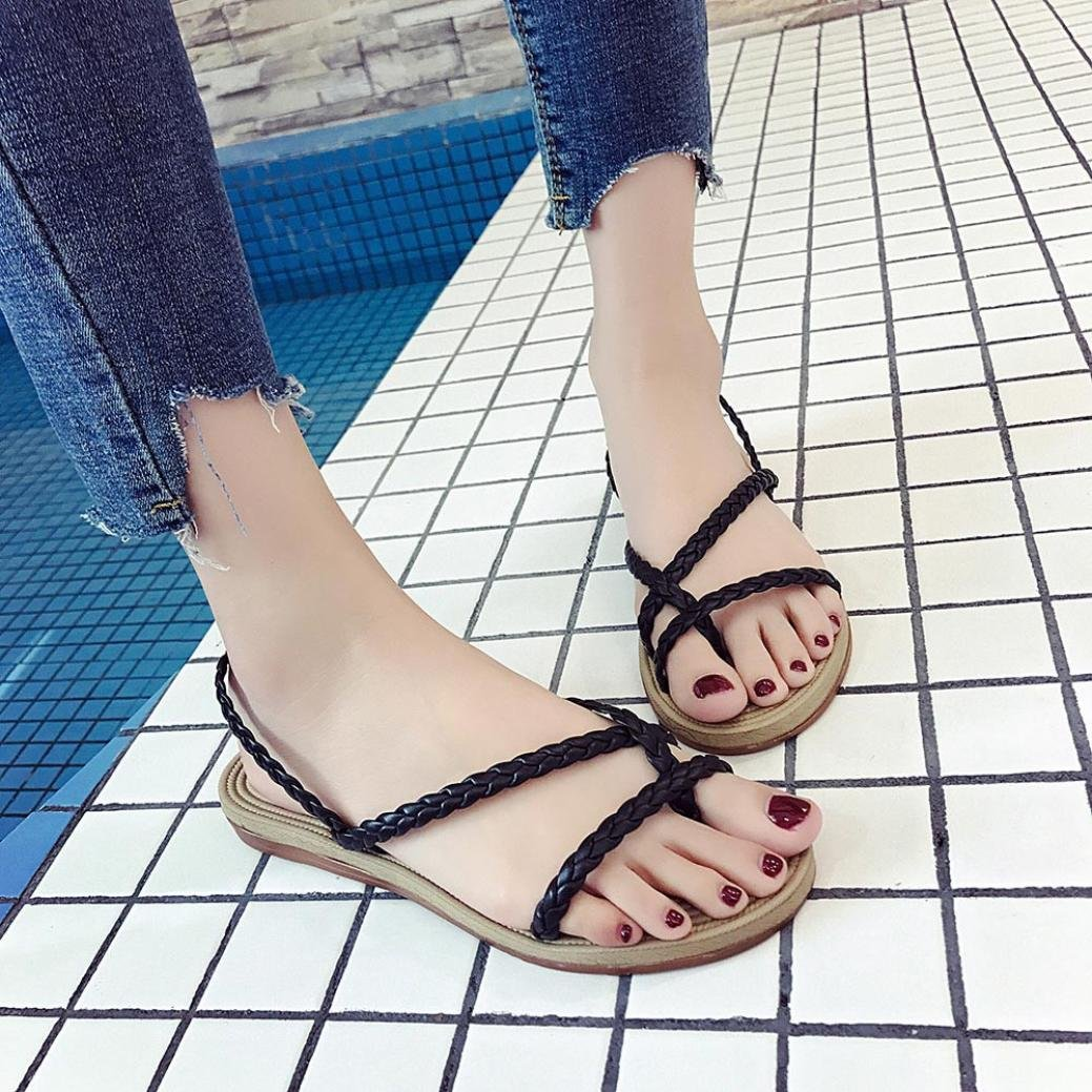 d986c0b935ae8 Lolittas Beach Flat Sandals Leather Flip Flop for Women Ladies ...