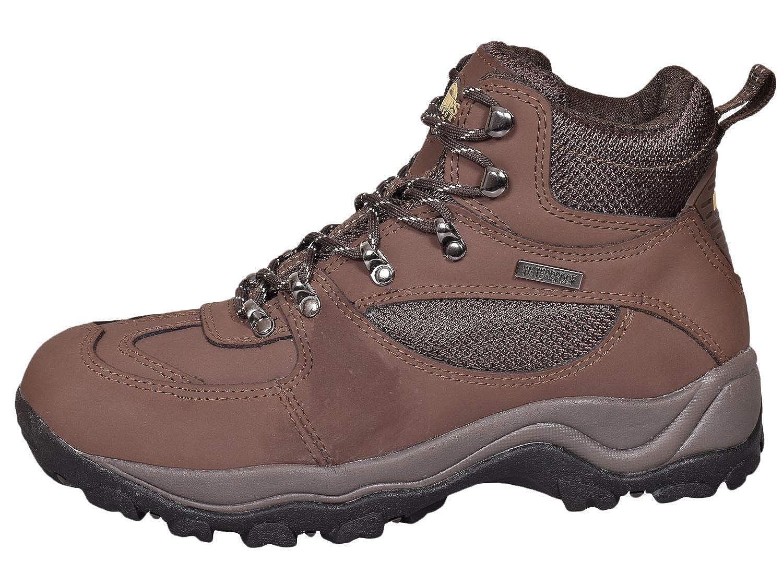 8250932a825 Northwest Territory Mens Terrain Lace UP Premium Leather Upper Waterproof  Walking/Hiking Trekking Boot