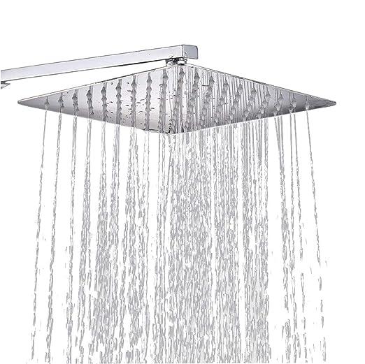 25 *25 cm Wasserfall Regenduschkopf Duschkopf Regendusche  Edelstahl Kopfbrause