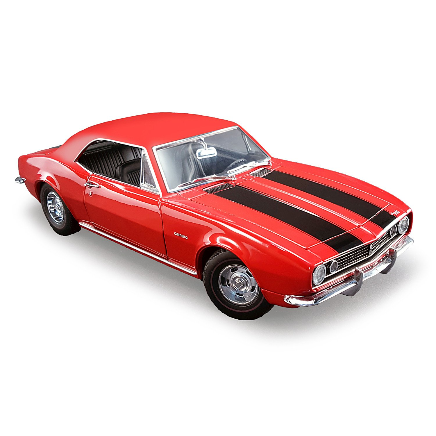 1:18 Scale 1967 Chevrolet Camaro Z/28 Bolero Red Diecast Car with Moving Parts by The Hamilton Collection