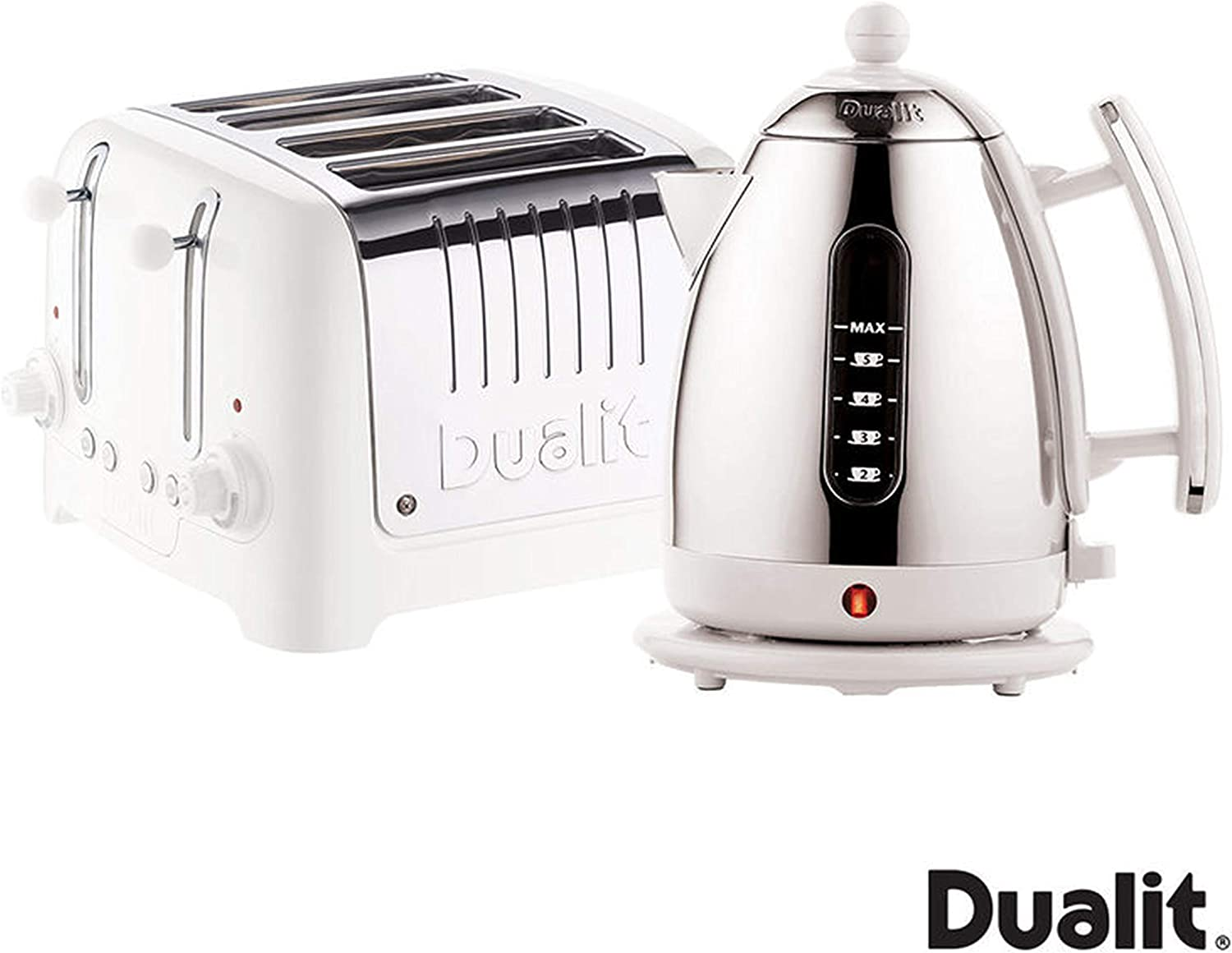 Dualit Lite Kettle and 4 Slot Toaster