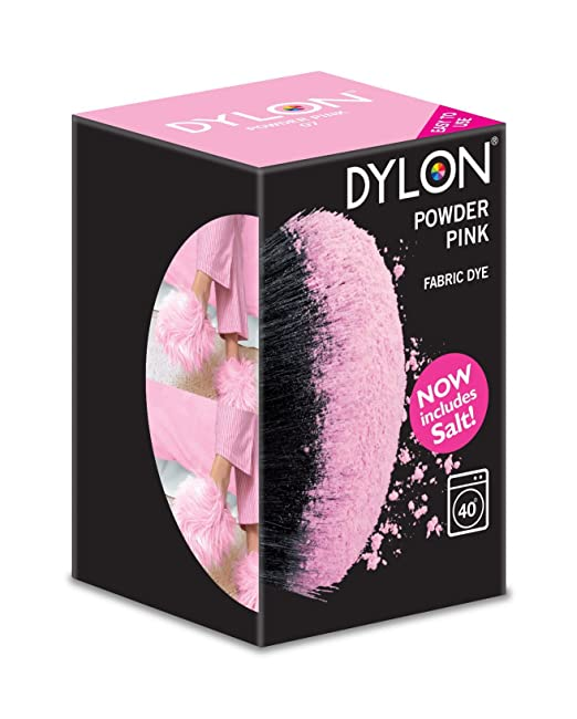 35 opinioni per Dylon tintura per lavaggi in lavatrice con sali 350g- Rosa cipria
