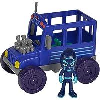 Simba- PJ Masks Ninja mit Bus Figura de acción. (109402228) , color/modelo surtido