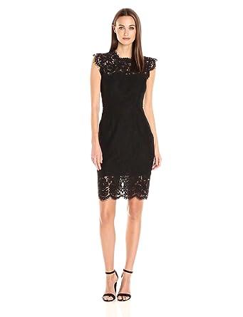 Rachel Zoe Women's Suzette Midi Dress, Black, ...