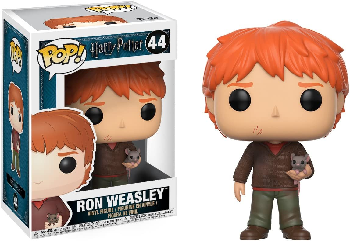 Ron Weasley with Scabbers Funko Pop! Harry Potter #44 Brand New