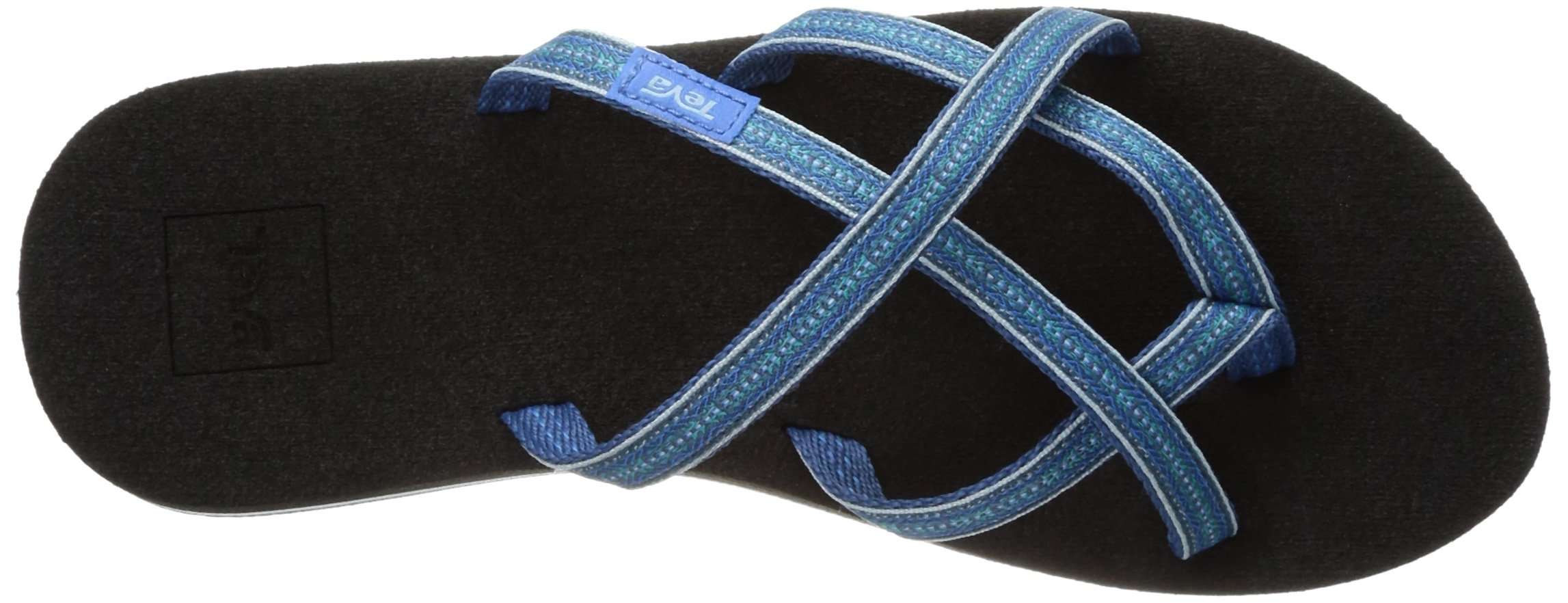 f044cfd8c Teva Women s Olowahu Flip-Flop - 9 B(M) US - Pintado Blue - 8761 770  pintado blue   Flip-Flops   Clothing