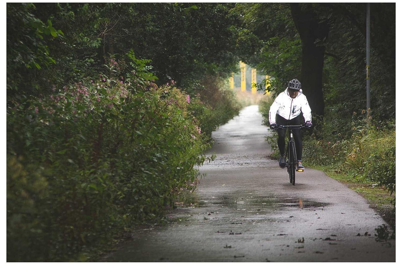 FWE Kennington FX Mens Waterproof Fully Reflective Cycling Jacket Silver  2XL  Amazon.co.uk  Sports   Outdoors 83fad0b73