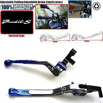 Palancas de embrague de freno de motocicleta ajustables y plegables para SUZUKI GSF 1250F BANDIT GSF 1200 GSX 1400 GSF1200 GSF1250F: Amazon.es: Coche y moto