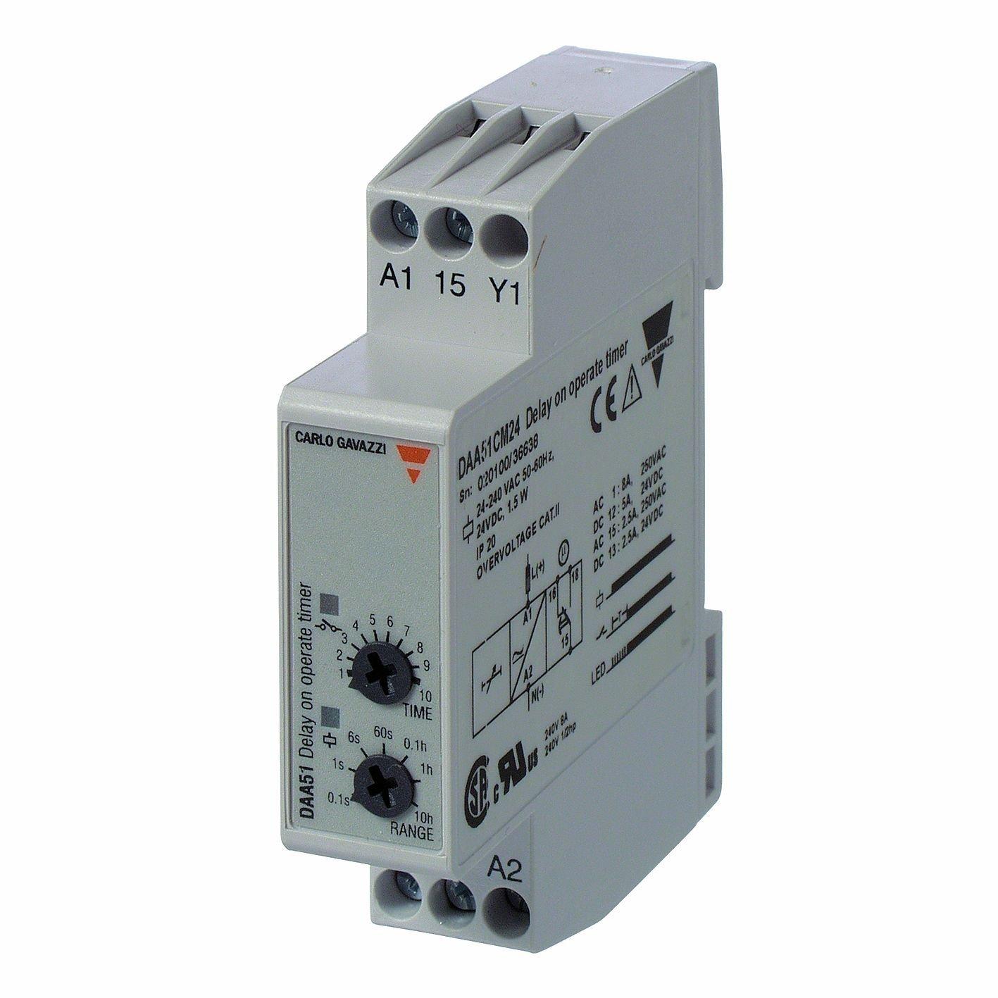 0caf7a5cf96 CARLO GAVAZZI DMB51CM24 Mini Multi Function Timer