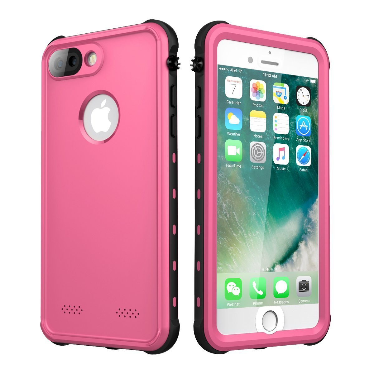 separation shoes 87da1 91983 iPhone 7 Plus/iPhone 8 Plus Case Waterproof, iThrough Underwater Case for 7  Plus/5.5
