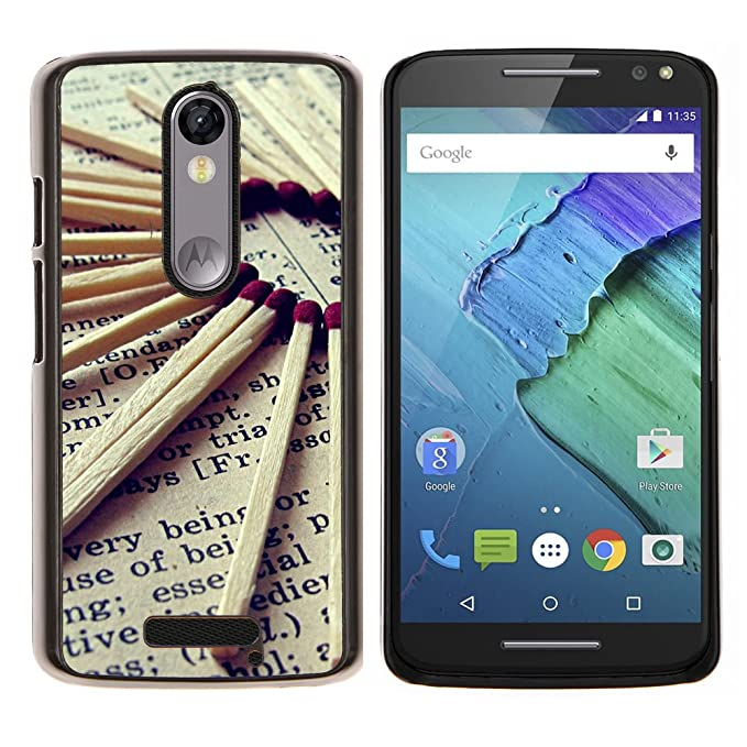 "For Motorola Droid Turbo 2 / Moto X Force Case , amor Photo"" - Diseño"