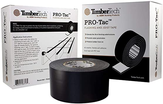 TimberTech PRO-Tac Deck Flashing and Joist Tape - 65' Roll - 3.25