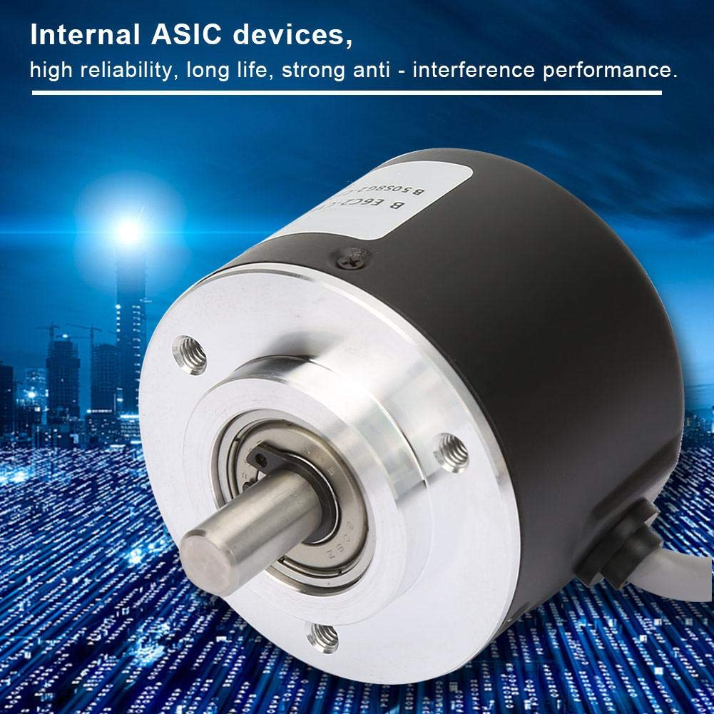 300P//R E6C2-CWZ6C Incremental Rotary Encoder,General-Purpose Encoder 50mm Diameter for Arduino