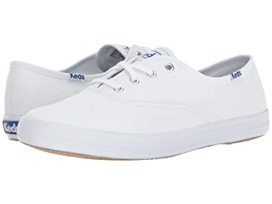 Keds Women s Champion Original Canvas Sneaker White ... ebdde8d73