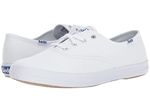 16e53d720fd Image Unavailable. Image not available for. Color  Keds Women s Champion  Original Canvas Sneaker White ...