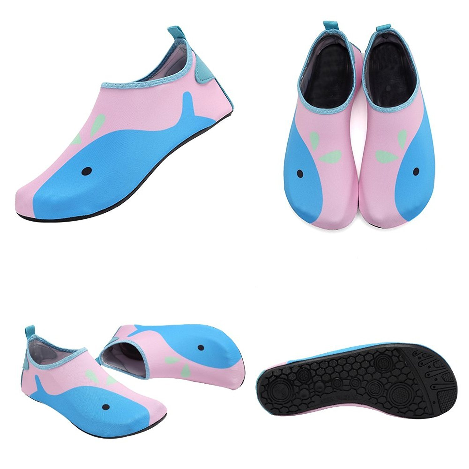 CIOR Kids Skin Barefoot Shoes Quick-Dry Water Shoes Mutifunctional Aqua Socks for Beach Pool Surf Shoes