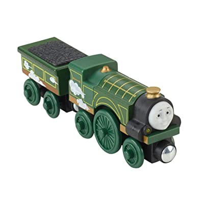 Fisher-Price Thomas & Friends Wooden Railway, Roll and Whistle Emily: Toys & Games