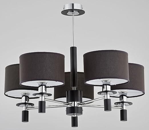 RKLTools - Lámpara de techo de 5 brazos Colgante Profundidad ...