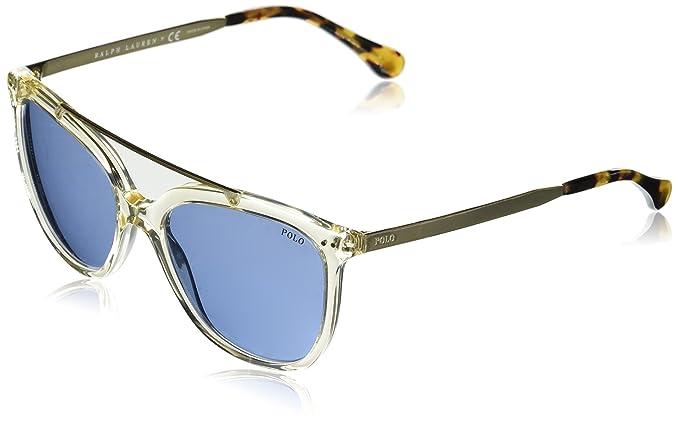 Polo Ralph Lauren 0Ph4135 503472, Gafas de Sol para Mujer, Gris (Grey Pinot