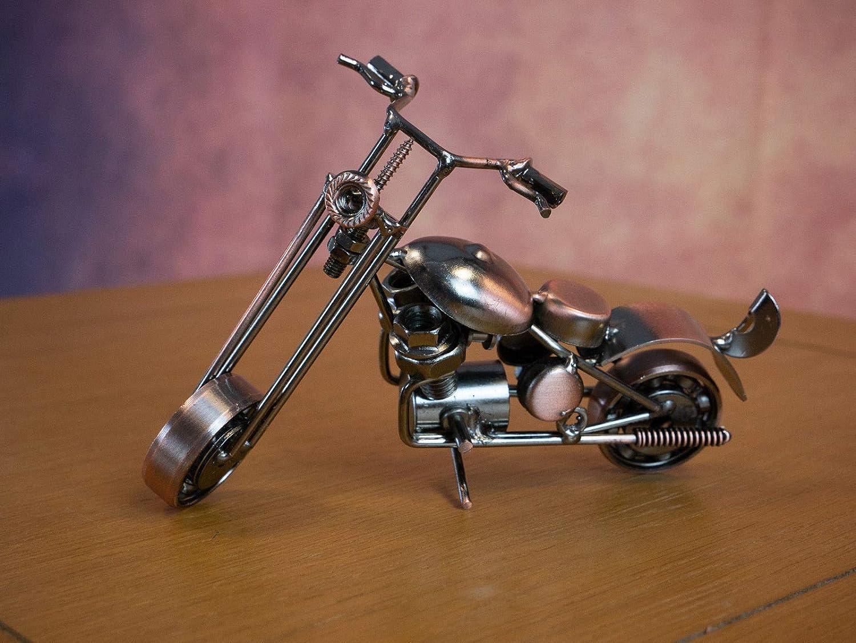 Car Sculpture Homezone Divers Styl/é Ton Bronze M/étal Voiture et Moto Sculptures Scrambler Chopper Roadbike Peaky Blinders Inspir/é Voiture D/écorations Sculptures Accessoires