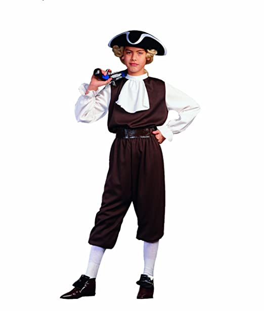 RG Costumes Colonial Boy Child Small/Size 4-6  sc 1 st  Amazon.com & Amazon.com: RG Costumes Colonial Boy Costume: Toys u0026 Games