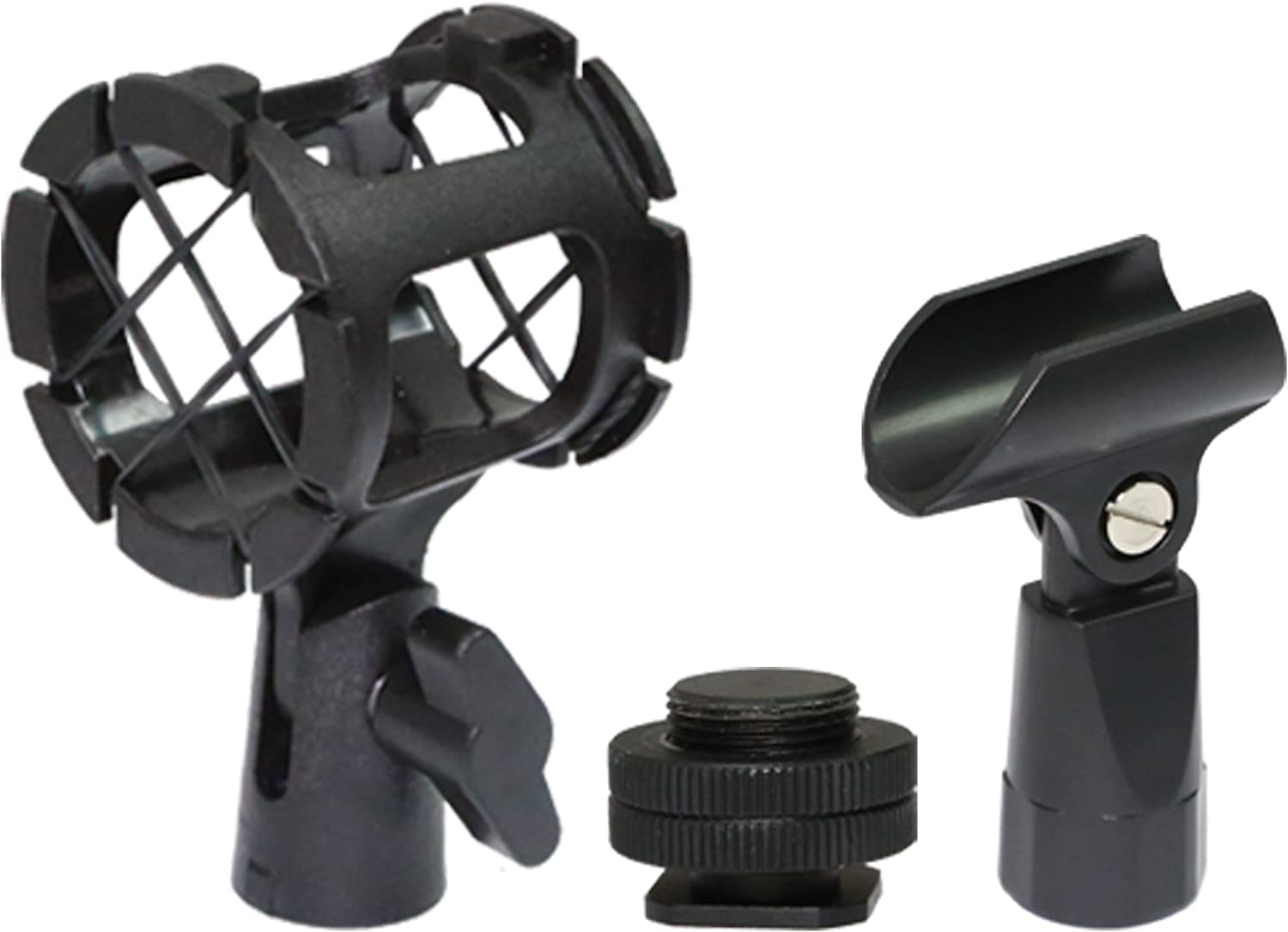 Vidpro XM-88 13-Piece Professional Video /& Broadcast Unidirectional Condenser Microphone Kit