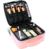 Travel Makeup Case,Chomeiu- Professional Cosmetic Makeup Bag Organizer Makeup Boxes With Compartments Neceser De…