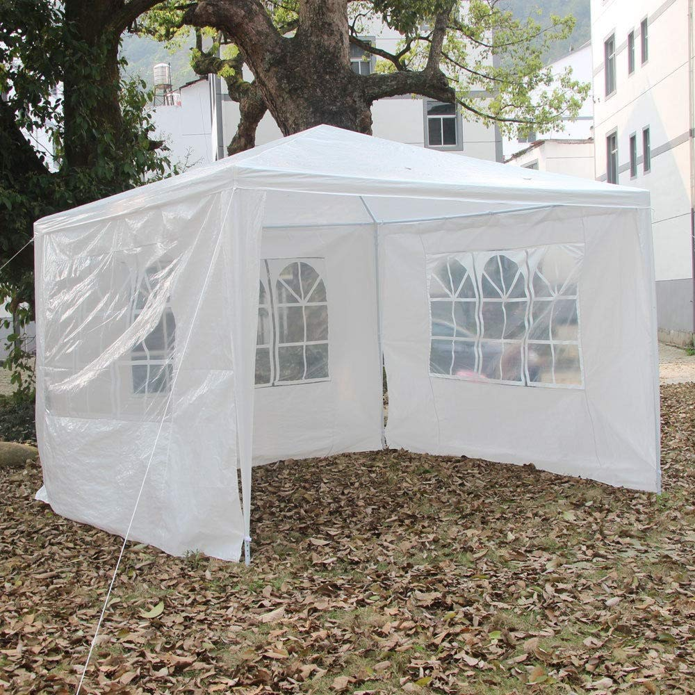 Blossom Store 10'x10'Outdoor Heavy duty Canopy Party Wedding Tent White