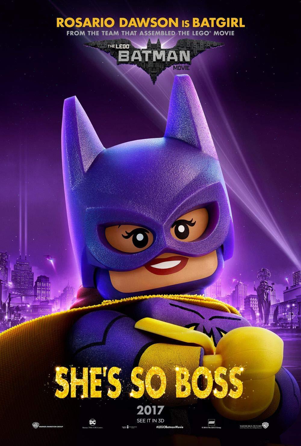 Lionbeen The Lego Batman Movie Movie Poster Cartel de la ...