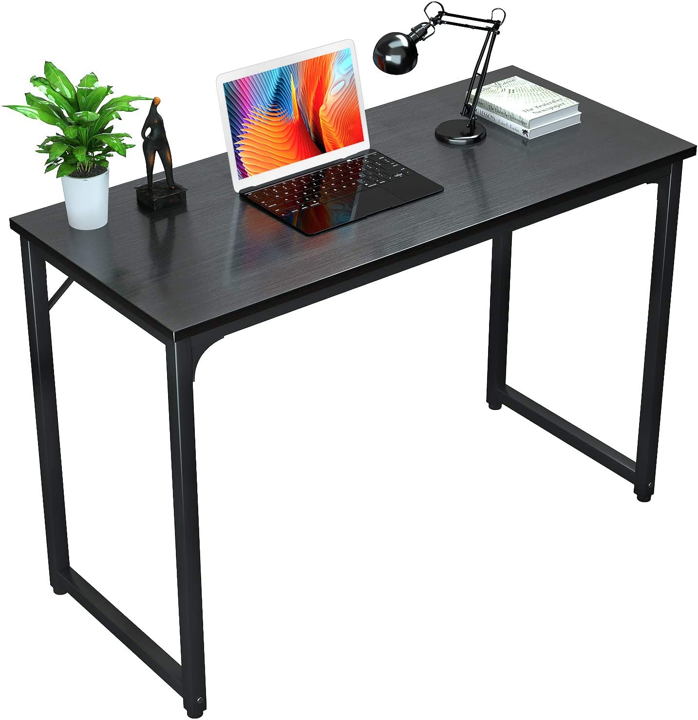 "Foxemart Writing Computer Table Modern Sturdy Office Desk 32"" PC Laptop Notebook Study Desk for Home Office Workstation, Black"