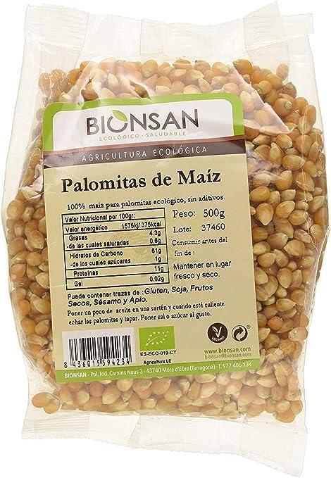 Bionsan Maiz para hacer Palomitas Ecológicas, 500 gr ...
