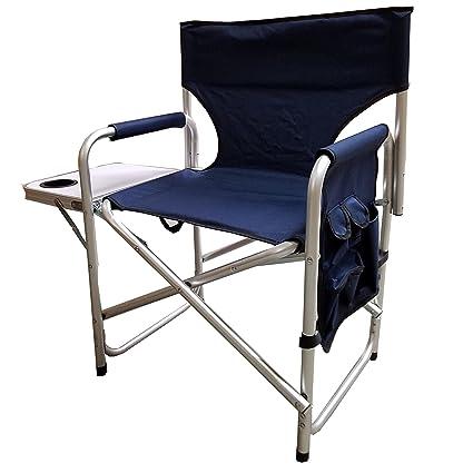 Astounding Amazon Com Supreme Folding Directors Chair Navy Blue Camellatalisay Diy Chair Ideas Camellatalisaycom