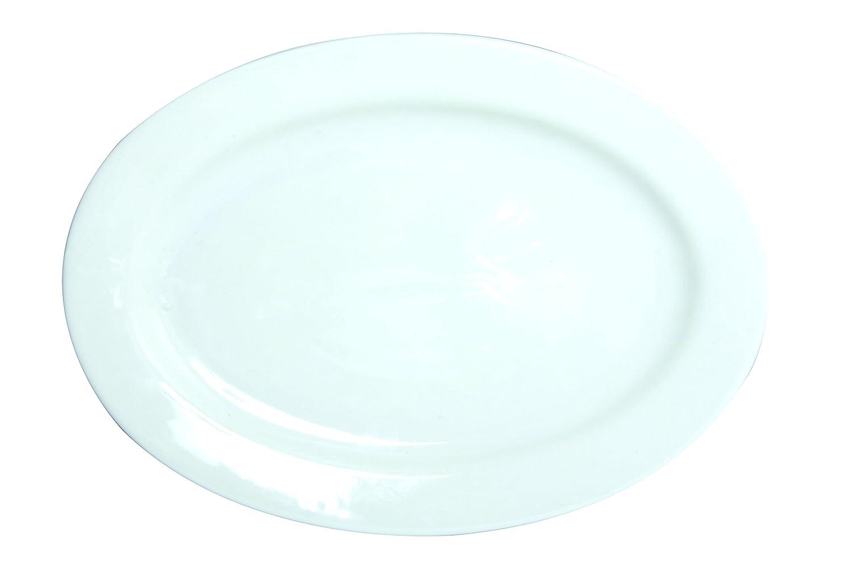 7154087 Pesce Disegno Novastyl Piastre 6 Porcellana 30 Cm X 21,5 Cm X 2,8 Cm