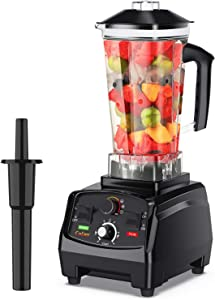 COLZER Blender for Shakes and Smoothies, Professional Countertop Blender with 2200-Watt Base,Built-in Timer,Self-Cleaning,High Power Blender for Frozen Drinks ,Shakes and Smoothies