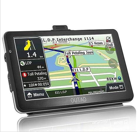 Coche GPS navegación, OUTAD de 7 táctil voz Reminding vehículo GPS Navigator 8 GB sistema