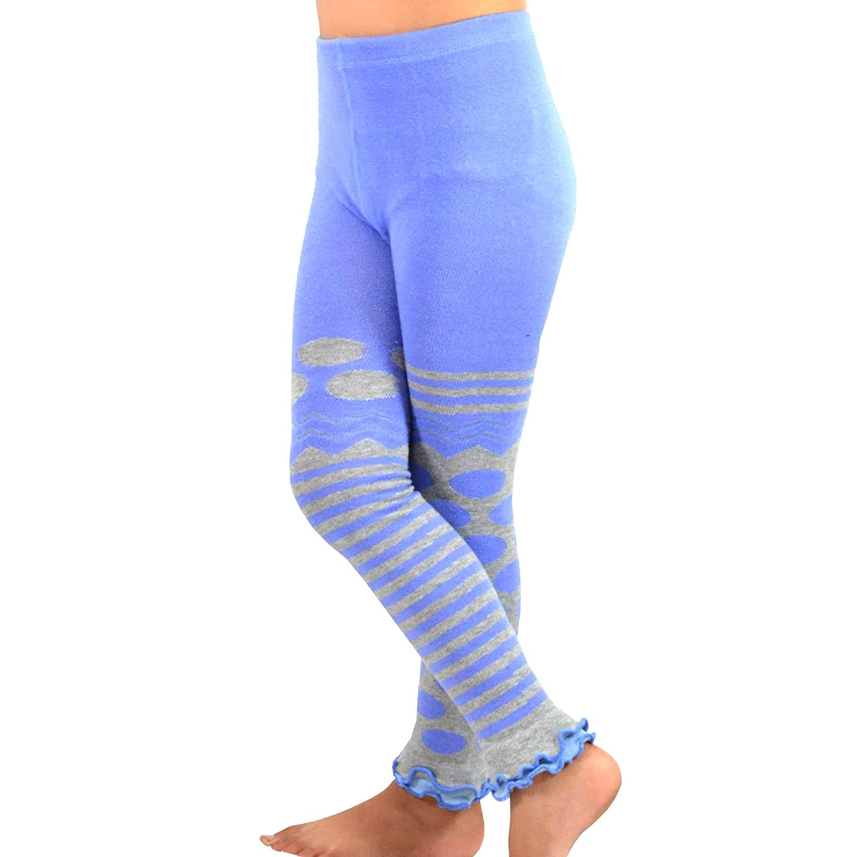 3 Pair Pack Soxnet Inc Footless Tights Kids Girls Fashion Cotton Leggings TeeHee Naartjie