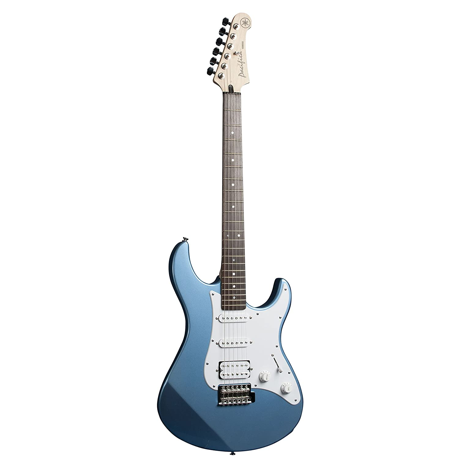 Yamaha PAC112J Electric guitar Sólido 6strings Azul, Blanco: Amazon.es: Electrónica