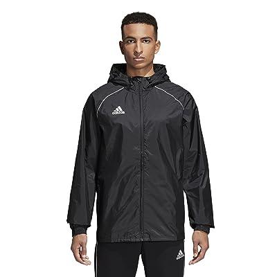 adidas Men's Core 18 Rain Soccer Jacket: Clothing