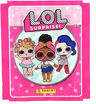 L.O.L. Surprise 10x Panini Sticker Pack (10 sealed packs): Amazon ...