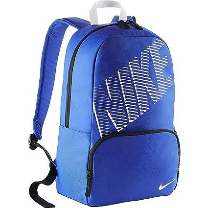 Nike - Nike Classic Turf Backpack Blue Zaino Blu BA4865 408 - ONE SIZE 68cf18a284962